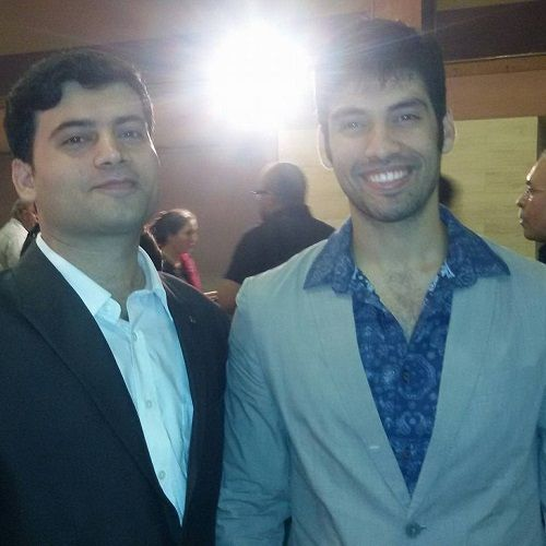 Milind Chandwani and His Brother