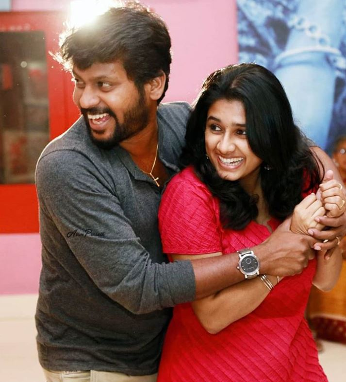 Rio Raj and his wife