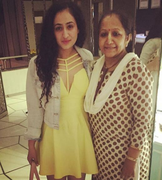 Ruchikaa Kapoor and her mother