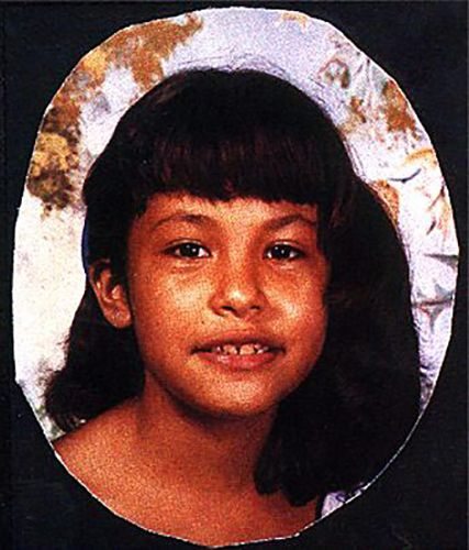 Selena Quintanilla as a Child