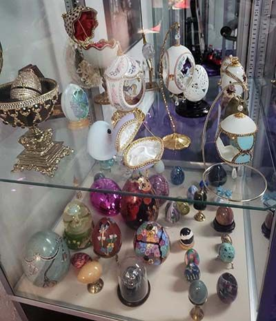 Selena Quintanilla's Collection of Fabergé Eggs