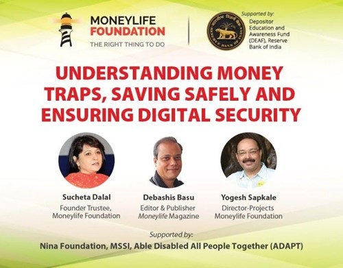 Sucheta Dalal and Debashis Basu's venture Moneylife Foundation