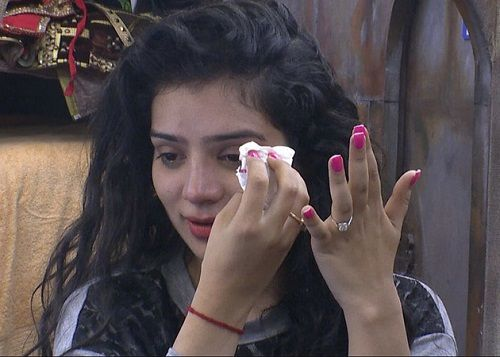 Sukirti Kandpal in Bigg Boss House