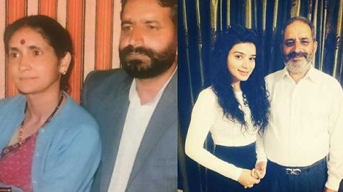 Sukirti Kandpal's Parents