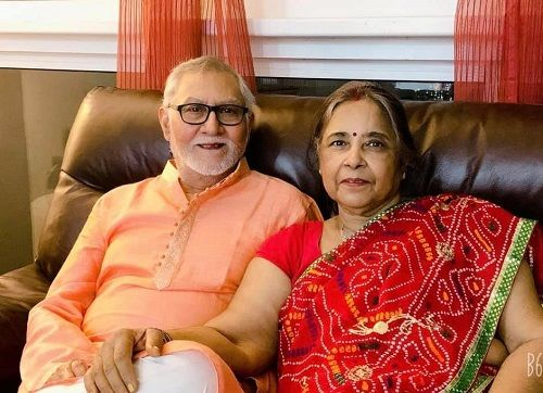 Yash Sinha's Parents