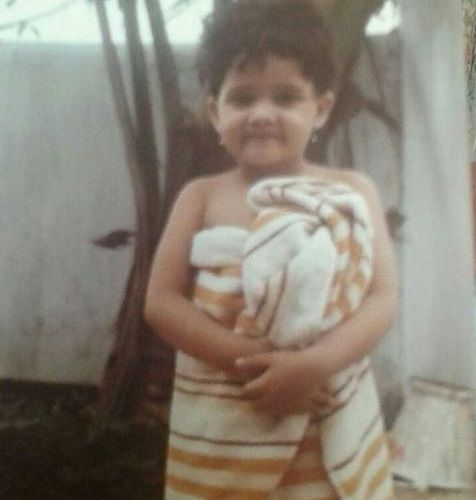 A Childhood Picture of Sulagna Panigrahi