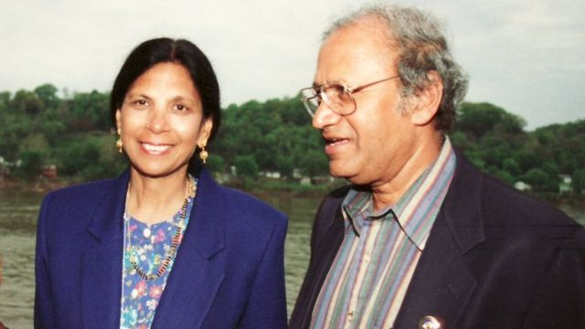 Atul Gawande's parents