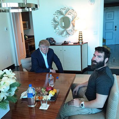 Dan Bilzerian with Donald Trump