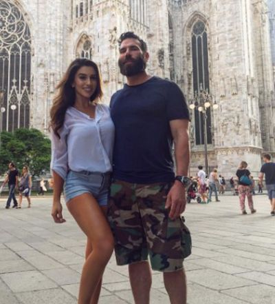 Dan Bilzerian with Lauren Blake