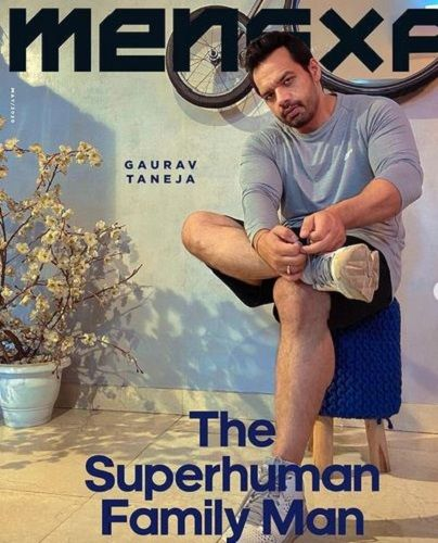Gaurav Taneja Featured on a Magazine Cover