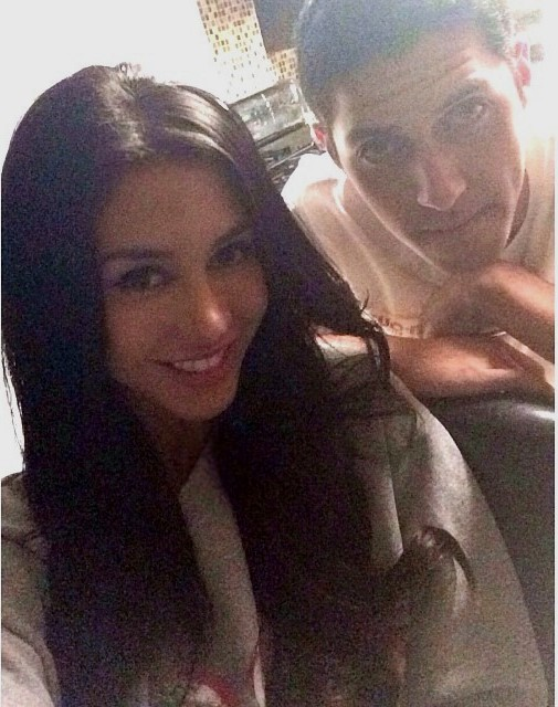 Joselyn Cano with her brother Israel Cano