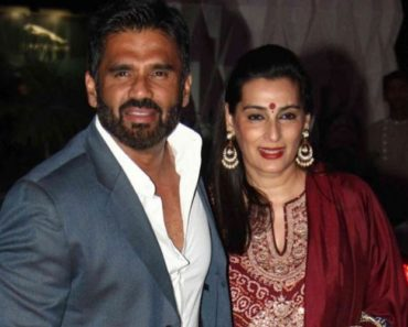 Mana Shetty and Suniel Shetty