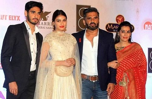 Mana Shetty with her Husband, Daughter, and Son