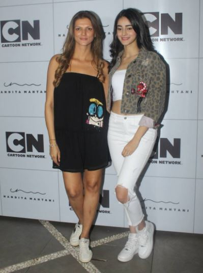 Nandita Mahtani at the launch of her cartoon collection