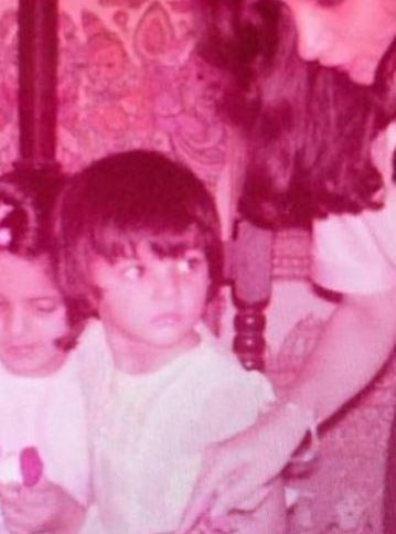 Nandita Mahtani in childhood