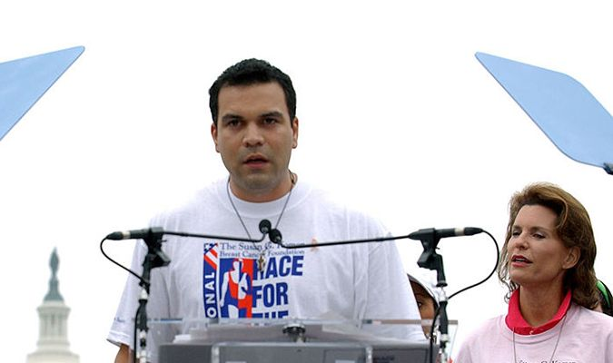 Ricardo Chavira During Race for the Cure Campaign