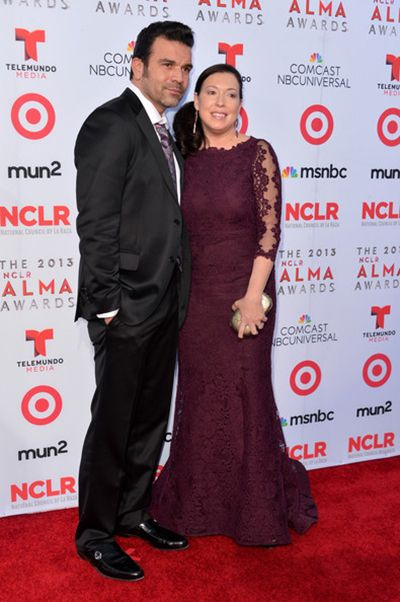 Ricardo Chavira with his Wife