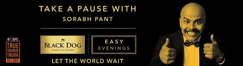 Sorabh Pant associated with Black Dog Easy Evenings