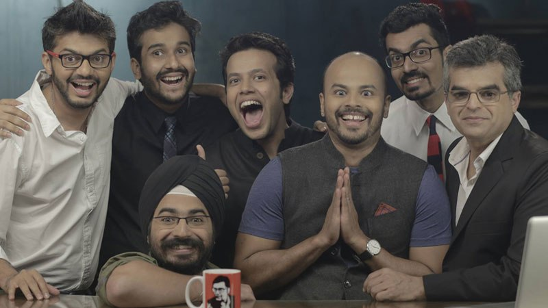 Sorabh Pant with other members of EIC