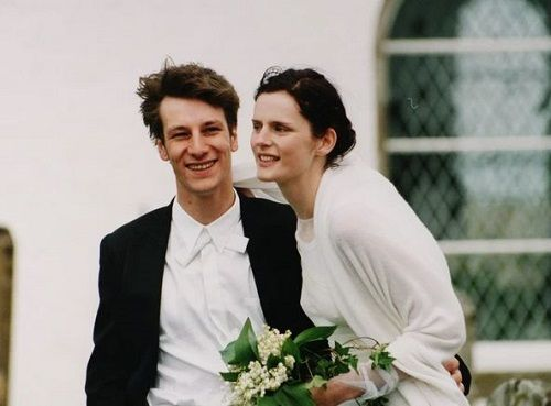 Stella Tennant and David Lasnet