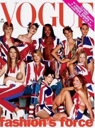 Stella Tennant on the Cover Page of Vogue