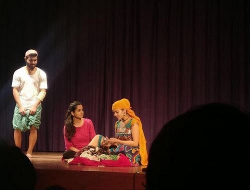 Tejasvi Singh Ahlawat in a Theatre Play