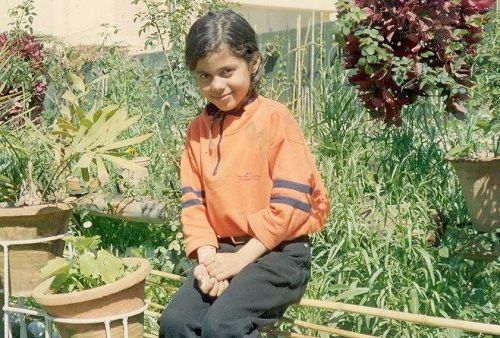 Aakriti Rana's childhood picture