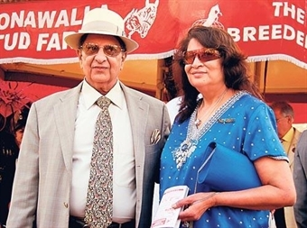 Adar Poonawalla's parents, Cyrus Poonawalla and Villoo Poonawalla