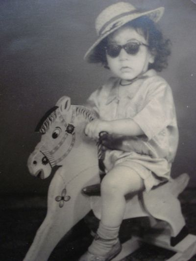 Anoop Khanna as a Child