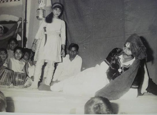 Anoop Khanna during a play