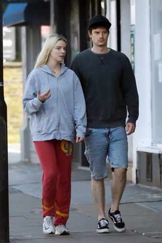 Anya Taylor-Joy with her boyfriend, Ben Seed