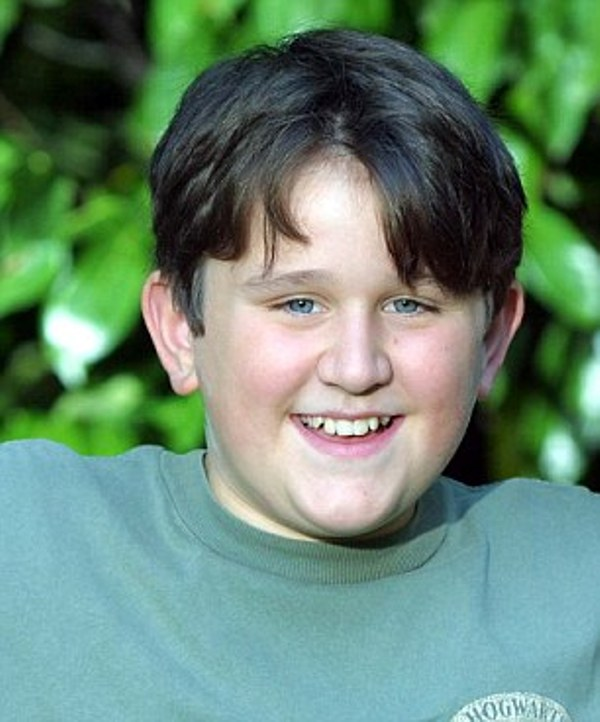 Childhood picture of Harry Melling