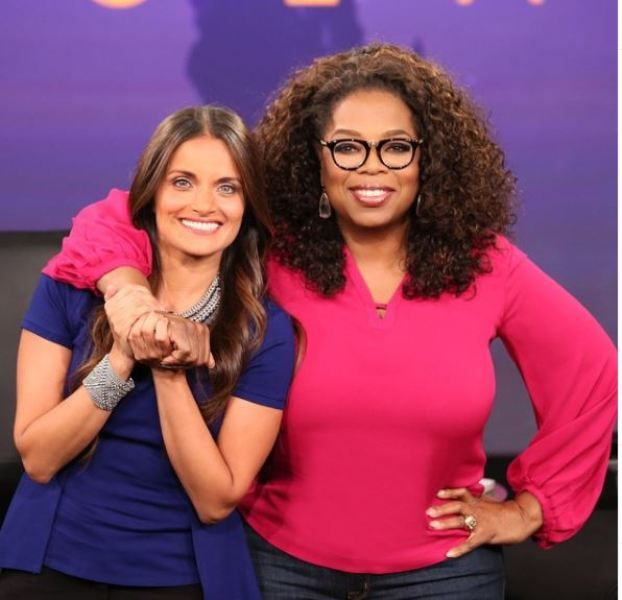 Dr Shefali with Oprah Winfrey