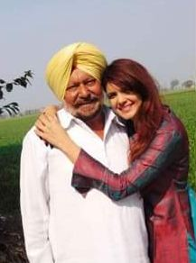 Ihana Dhillon with her father