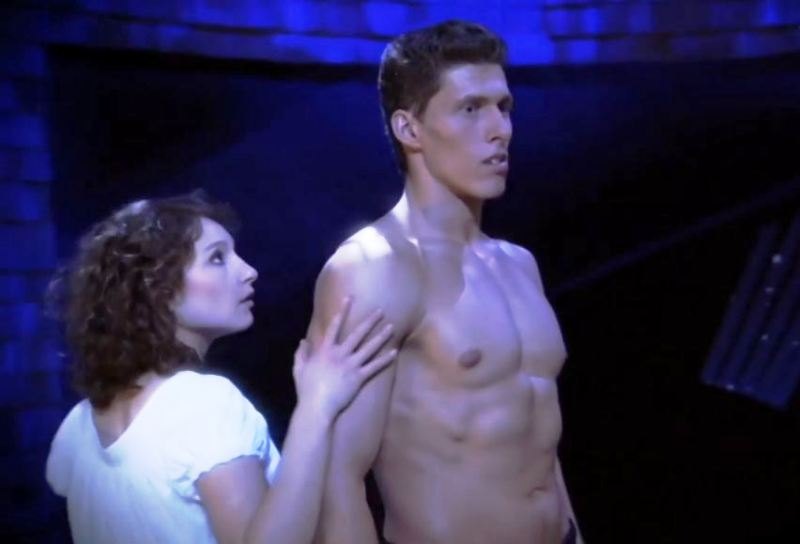 Janina Elkin in the play Dirty Dancing (2007)