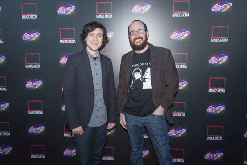 Josh Brener with his brother
