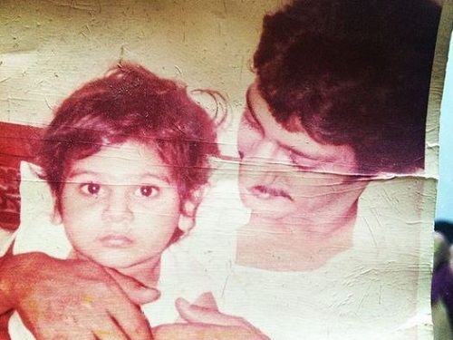 Karan Veer Mehra's childhood picture with his father