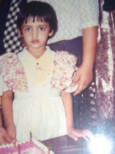 Nidhi Seth's childhood picture