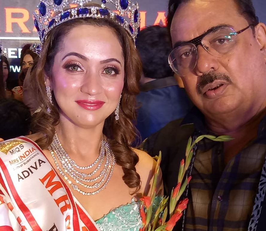 Pappu Khanna's daughter crowned as Mrs India Queen 2019