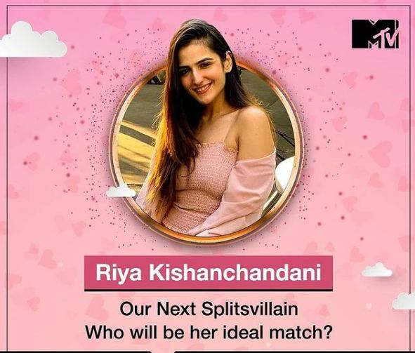 Riya Kishanchandani as a contestant of Splitsvilla 13