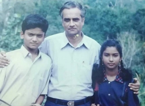 A childhood picture of Manikuttan