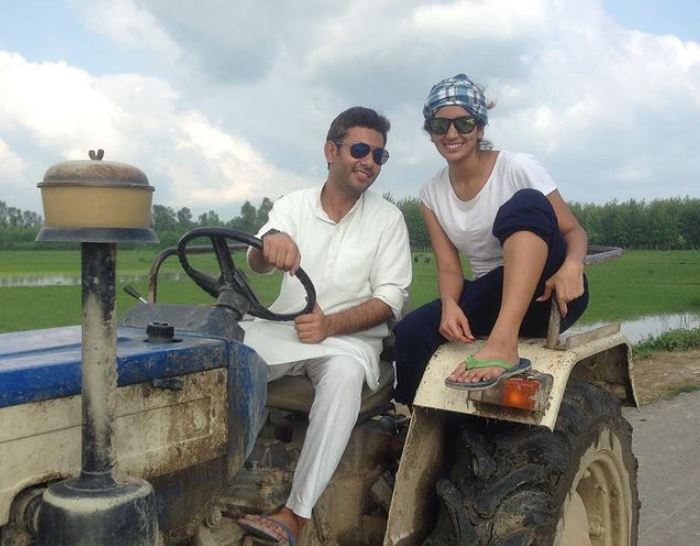 Ayn Zoya with her brother