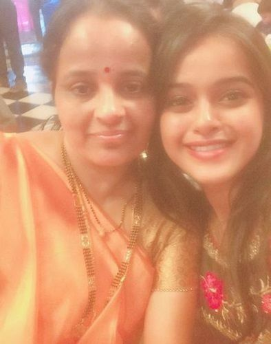 Chinmayee Salvi with her mother