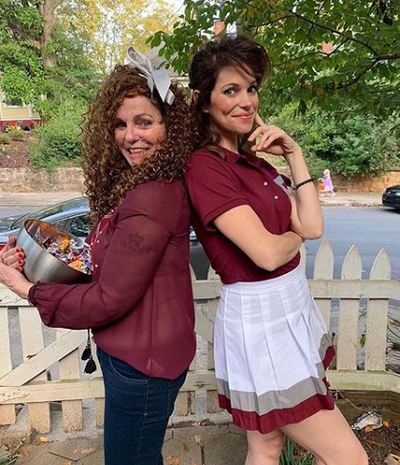 Courtney Henggeler with her mother