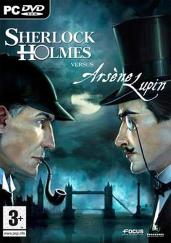 Cover of the PC game Sherlock Holmes Versus Arsene Lupin