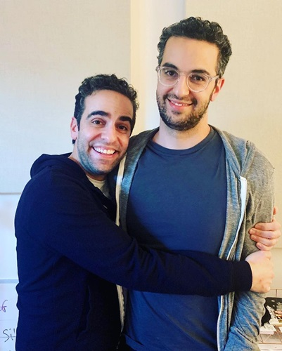 Dan Ahdoot with his brother, Dave Ahdoot