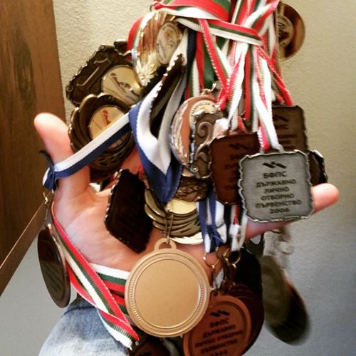 Julian Kostov's medal collection