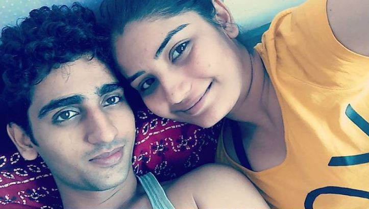 Khushboo Atre and her brother