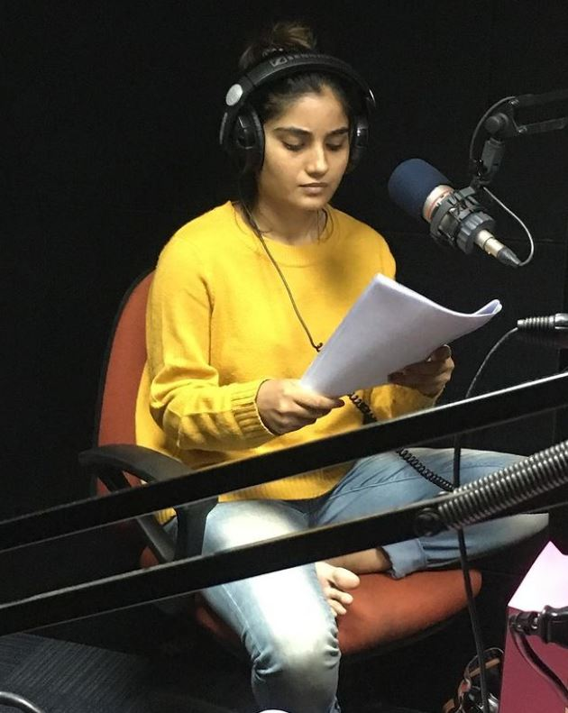 Khushboo Atre as a voice artist