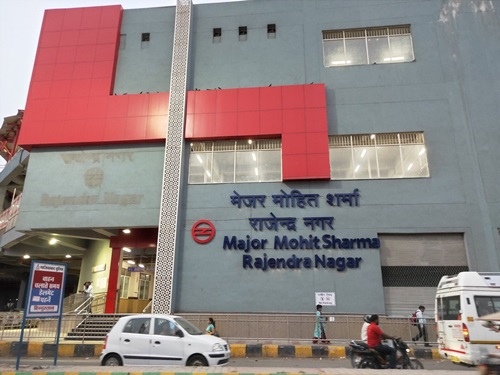 Picture of Major Mohit Sharma Rajendra Nagar metro station